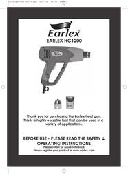 Earlex HG1200 User Manual