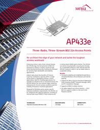Meru Networks AP433E Leaflet