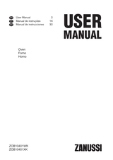 Zanussi ZOB10401WK User Manual