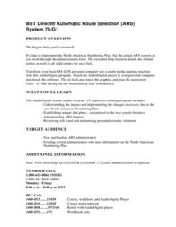 Definitive Technology Marine RADAR System 75/G1 Leaflet
