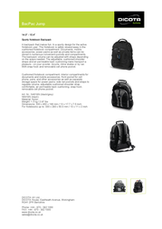 Dicota BacPac Jump N6418N Leaflet