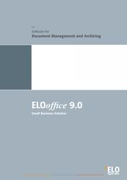 ELO Digital Office ELO office 9.0, 1U + SCEYE 9301-80-DE+SC7001 User Manual
