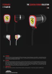 Ferrari by Logic3 Scuderia R100i FBLSR100I/W Leaflet