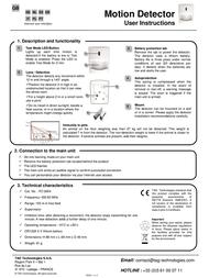Myfox FO2004 Leaflet