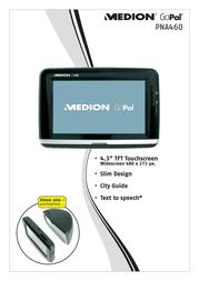 Medion GoPal PNA460 MD96179 Leaflet