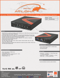 Lenexpo AT-HD510VGA Leaflet