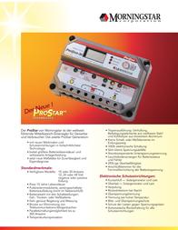Morningstar Solar charge controller 321135 Data Sheet