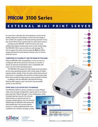 Silex SX-3100 Leaflet