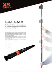 XSories Kong U-shot DGXUSHKONG Leaflet