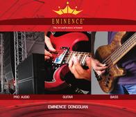 Eminence asd 1001 Brochure