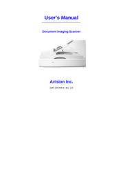 Avision AV8350 Manuale Utente