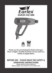 Earlex HG1500 User Manual