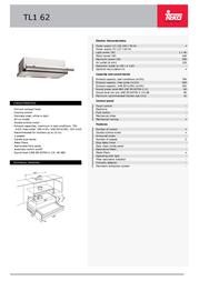 Teka TL1 62 40474212 Leaflet