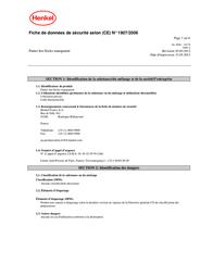 Pattex PXP06 11 mm 7 - 10 min PXP06 Data Sheet