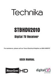 Technika STBHDV2010 User Manual