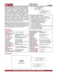 TV One 1T-VS-626 Leaflet