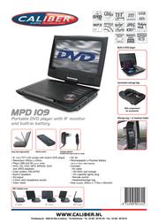 Caliber MPD109 Leaflet