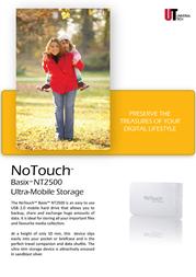 Universal-Tech NoTouch Basix NT2500 NT2527SU Leaflet
