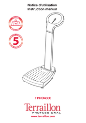 Terraillon Doll TPRO4300 User Manual