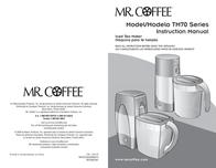 Mr. Coffee TM75 User Manual