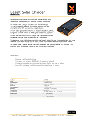 Xtorm By A Solar Xtorm by A-Solar Xtorm Basalt AM-118 200 mA AM-118 Data Sheet