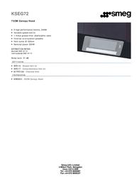 Smeg KSEG72 Leaflet