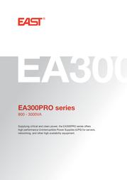 EAST EA300PRO-1100 User Manual