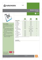 Tele Atlas 1028813 产品宣传页