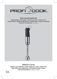 ProfiCook PC-SM 1005 501005 Data Sheet
