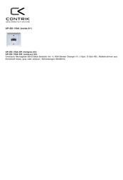 Contrik UP-ED/VGA EDIZIOdue UP-ED/VGA Data Sheet