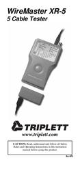 Triplett WireMaster XR-5 3260 User Manual
