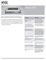 Dell Wyse S90 902115-02L Leaflet