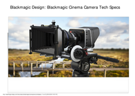 Blackmagic Design Cinema Camera EF CINECAM26KEF 用户手册