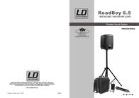LD Systems ROADBOY 6.5 PA-SYSTEM LDRB65 Data Sheet