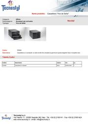 Tecnostyl EDS03 Leaflet