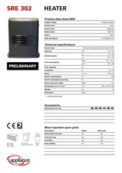 Zibro SRE 302 Data Sheet