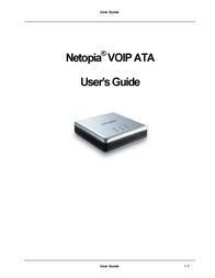 Netopia VOIP ATA User Manual