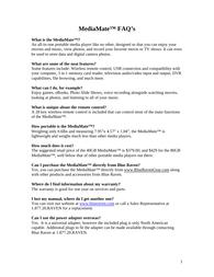 Blue Raven 7080 Information Guide