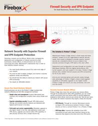 WatchGuard Firebox X15 Wireless EDGE WG40070-EU Leaflet