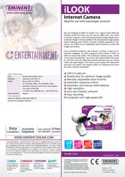 Eminent iLOOK Internet Camera EM1088 Leaflet