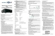Escient SWITCH 16 CHANNEL AUDIO MS616A Leaflet