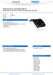 Ewent EW1043 Leaflet
