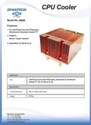 Dynatron H53G Leaflet