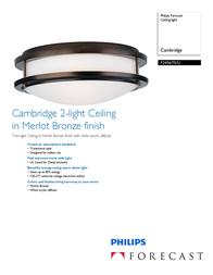 Philips Forecast F2456/70/U F245670U Leaflet