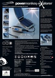 PowerTraveller PMEV2001 Leaflet