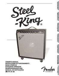 Fender D130F User Manual