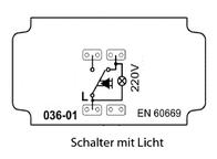 Pera Insert Toggle-switch, Circuit breaker Pera 2100-016-0100 2100-016-0100 Data Sheet