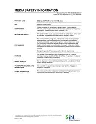 """Sihl Backlit Film Reverse Print 36"""" 14002403 Leaflet"""