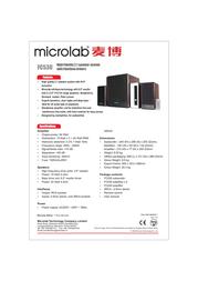 Microlab FC-530 Leaflet