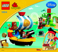 Lego Duplo 10514 PIRATENSCHIFF BUCKY 10514 Data Sheet